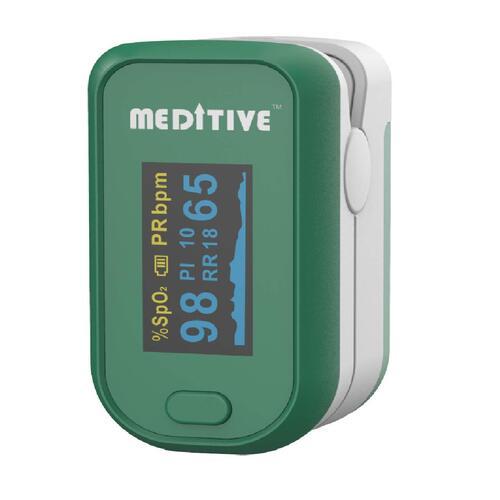 3. Meditive Fingertip Pulse Oximeter